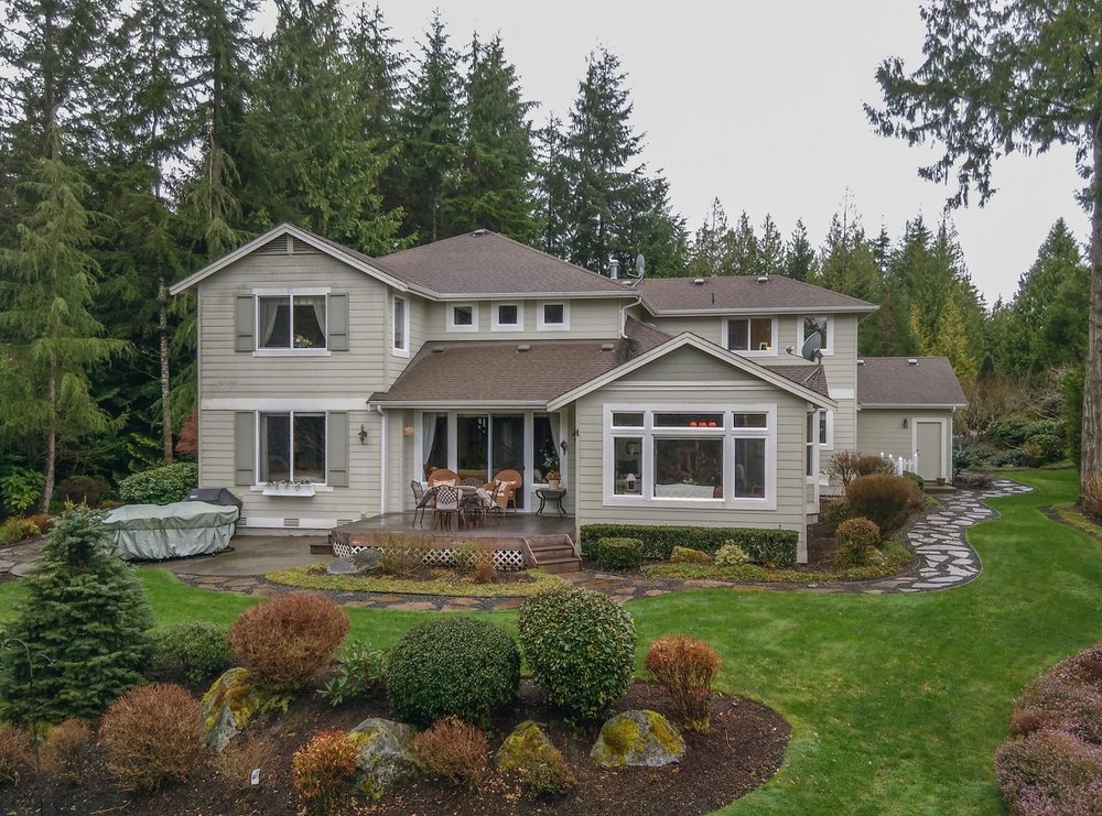 custom home, port ludlow property, master planned resort community