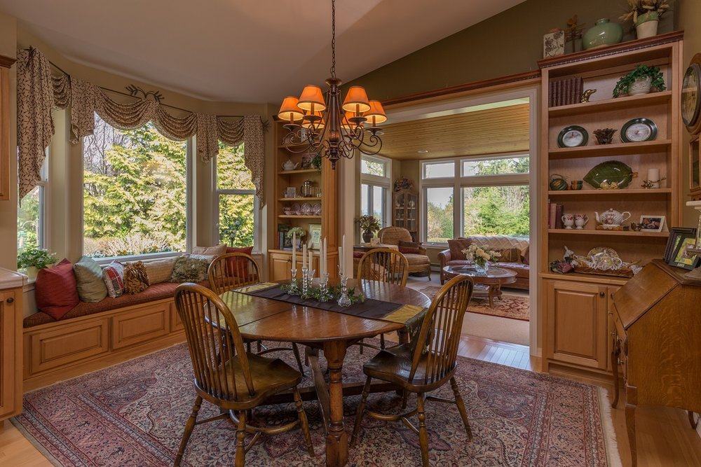 dining room, port ludlow, olympic peninsula