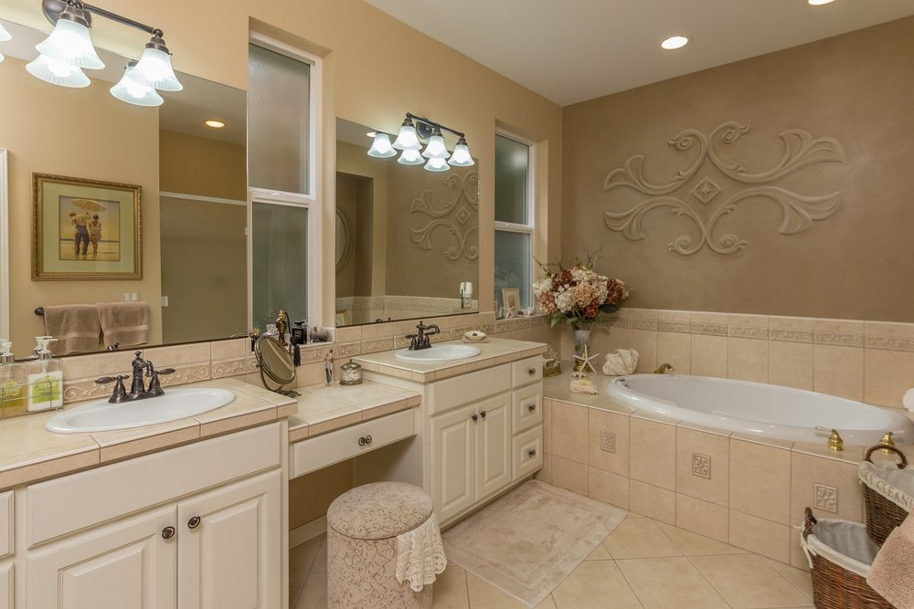 bathroom, custom home, port ludlow property