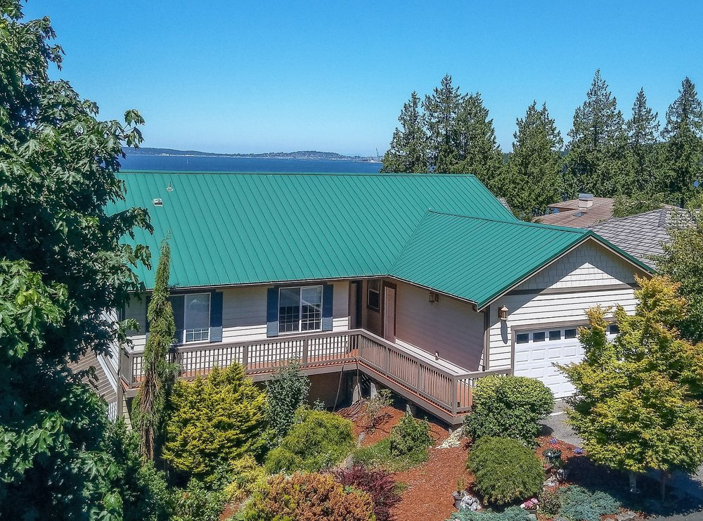 port hadlock, single family home, water view