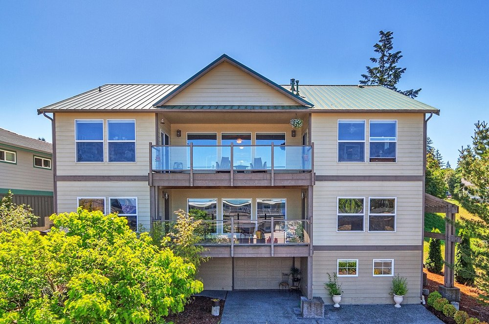 port ludlow property, deck, water view