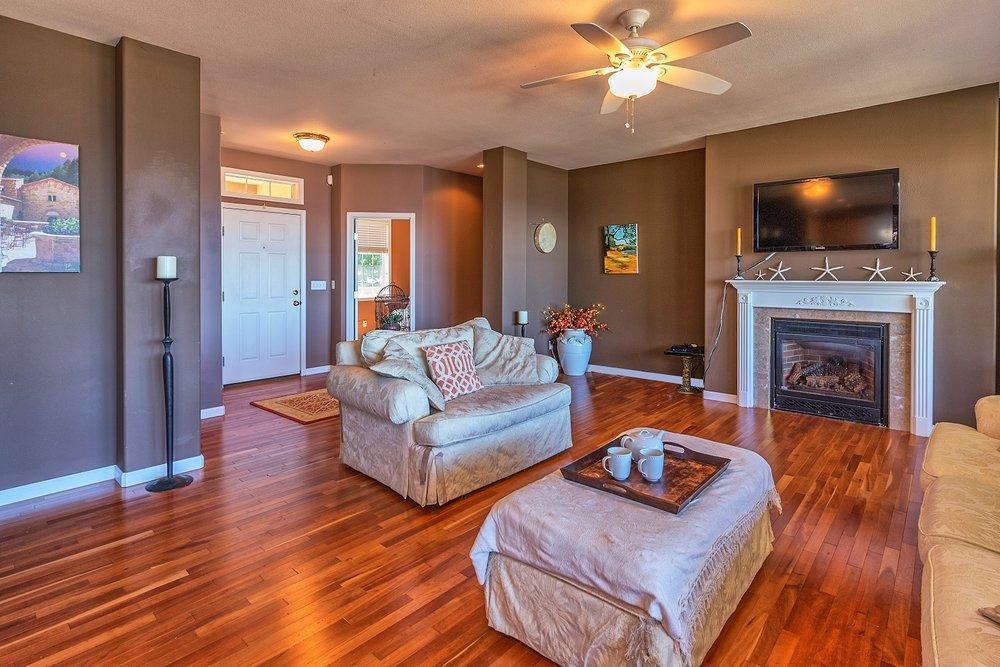 living room, view, windows