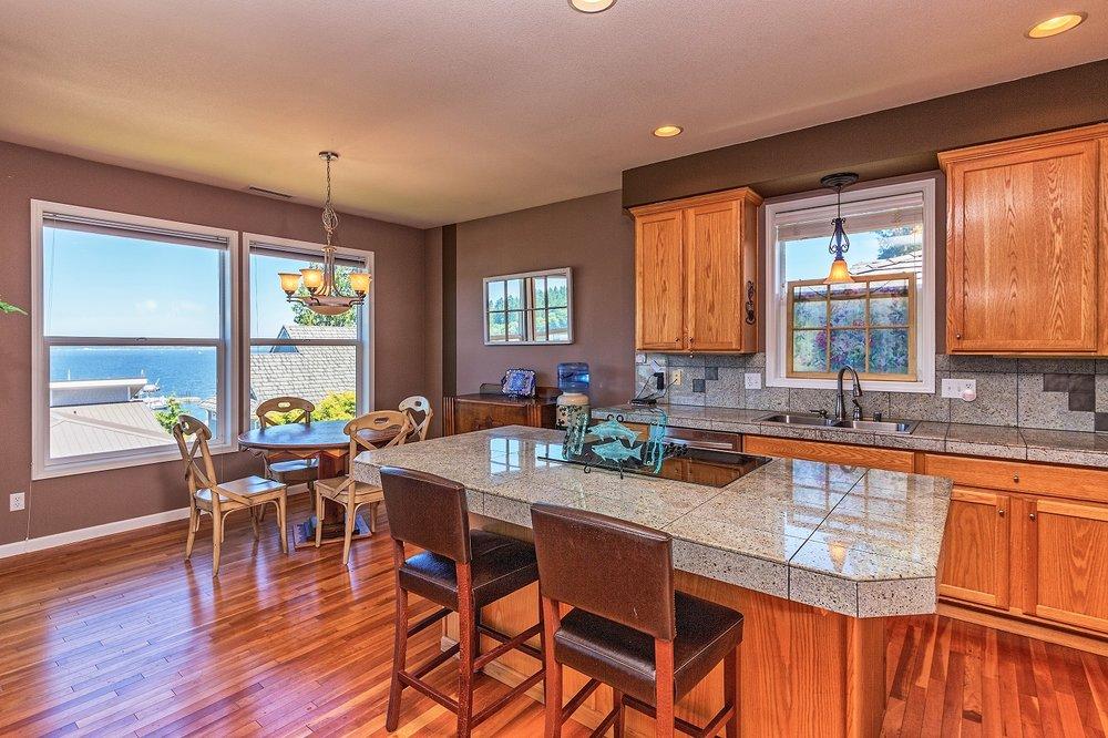 kitchen, water view, port hadlock