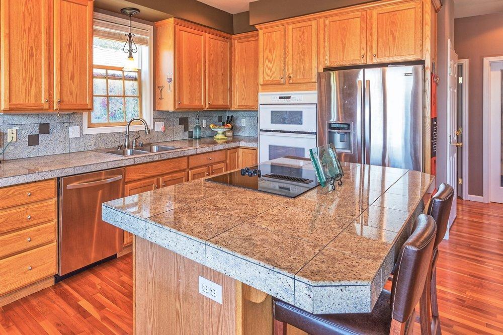 kitchen, kitchen island, port hadlock