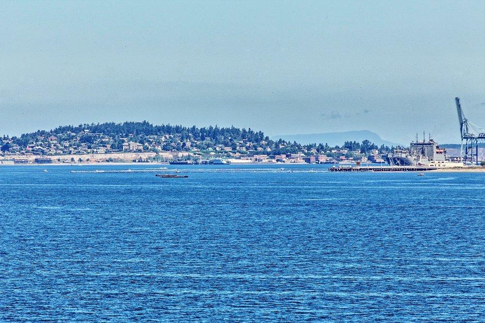 water view, port hadlock, marina