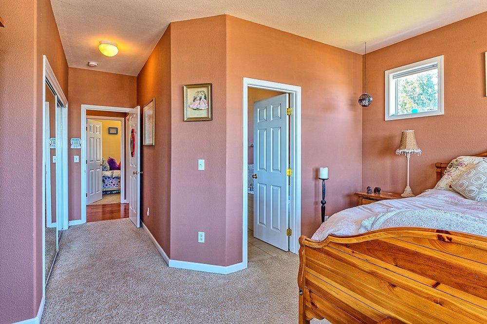 bedroom, port ludlow property, gated