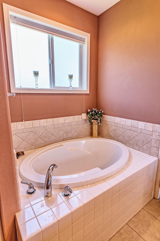 bathtub, windows, port ludlow property