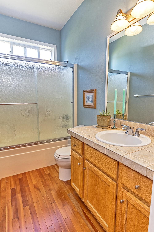 bathroom, shower, gated community