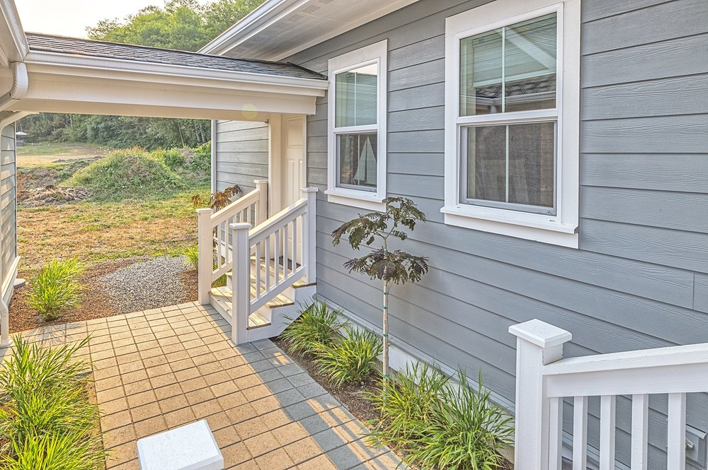 landscaping, port ludlow, single-family home