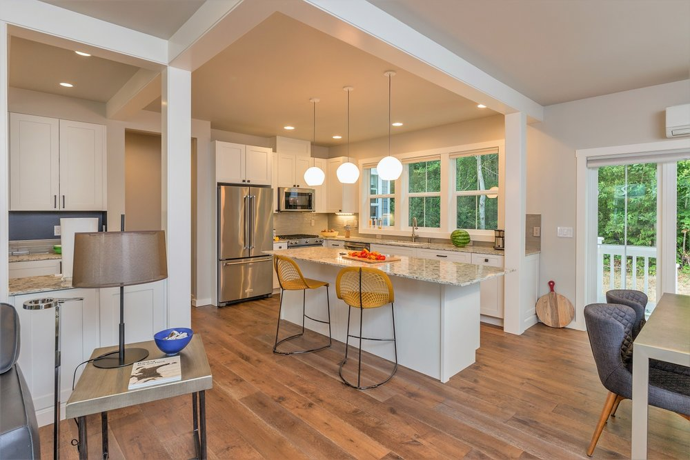 kitchen, custom home, port ludlow