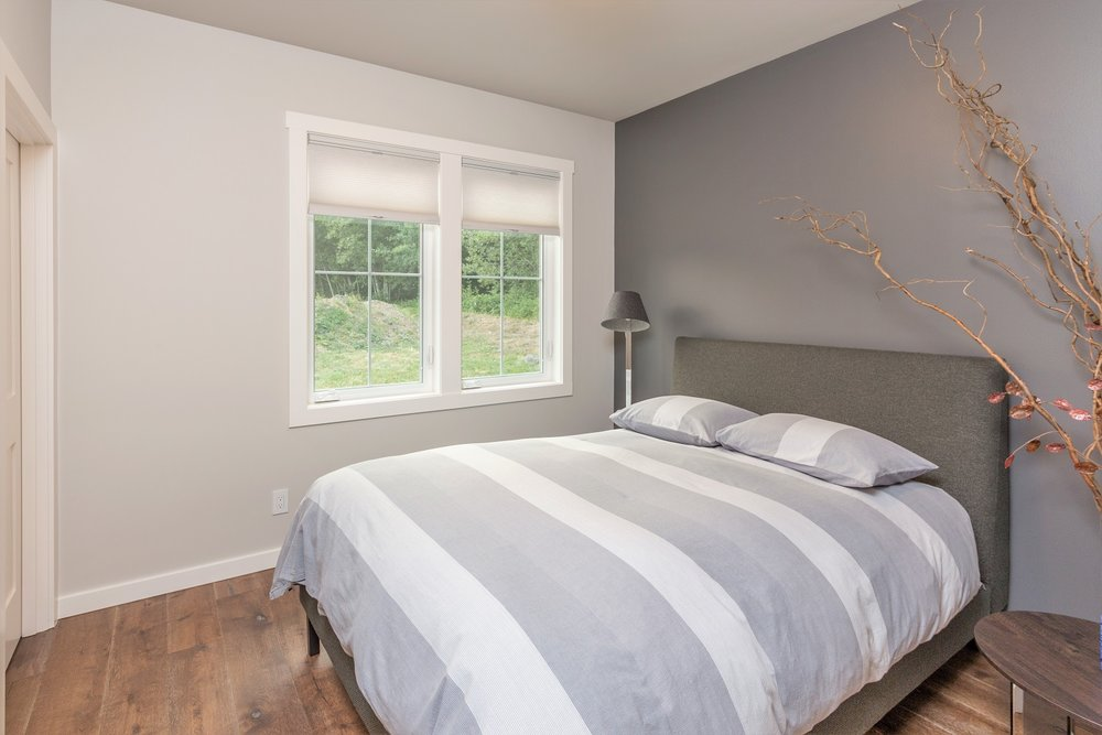 bedroom, custom home, port ludlow property