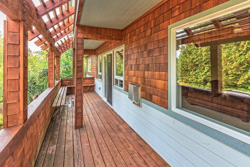 deck, port ludlow property, resort community