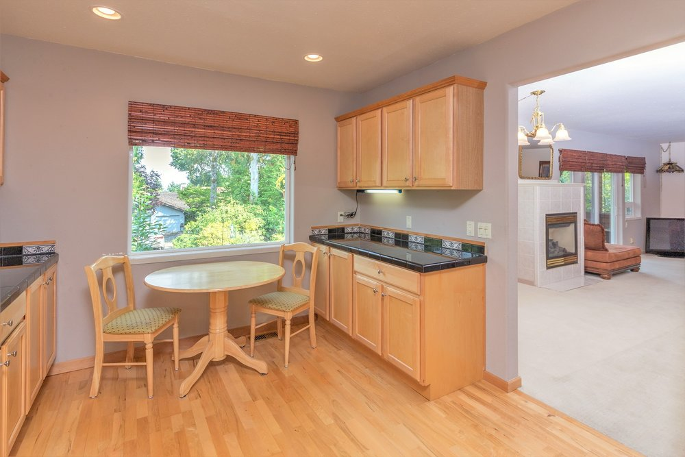 dining area, kitchen, port ludlow