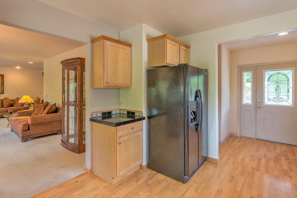 kitchen, living area, port ludlow property