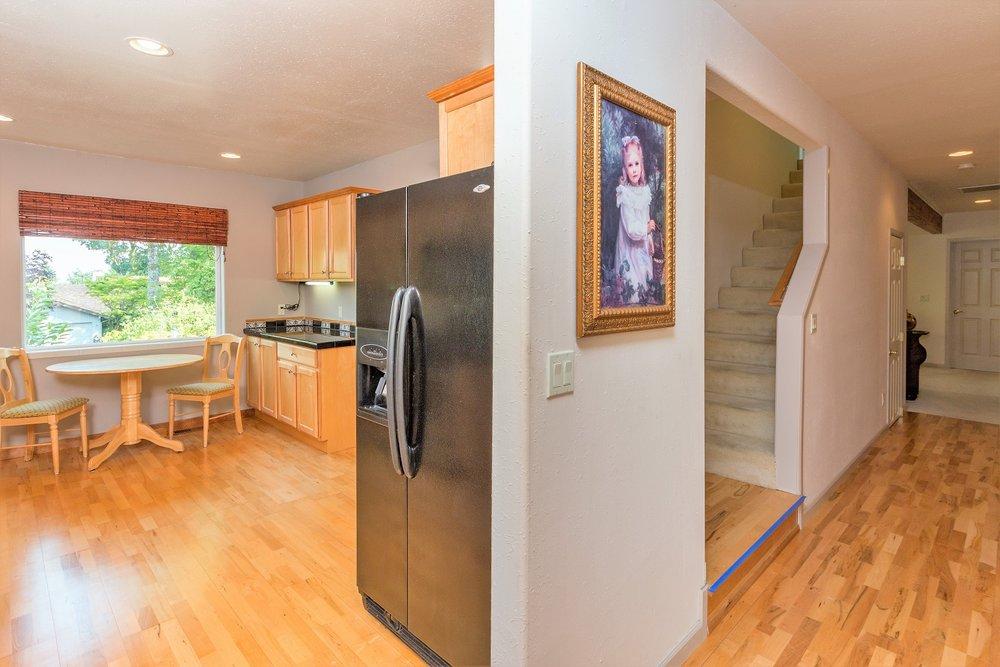 kitchen, hallway, olympic peninsula
