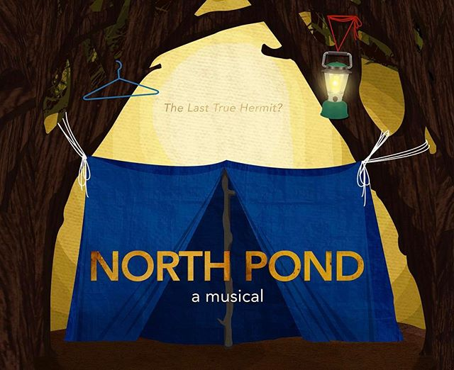 """Who is he? Who is he? This riddle in the night.. living off us for free, hiding from the light.."" NORTH POND opens tomorrow at Matchbox 2, 7:30PM - Tickets are available online and at the door #newmusical #northpondhermit  @musiqahouston @matchouston @hou_arts @cmonboardhouston @outsmartmagazine @culturemap @local_houston @housymphony @hougrandopera @theaterdistricthouston @go_houston_usa @live_stages @theatrenewsweb  Starring @michaelhewitt23 and @chelseaahelm  Music and Lyrics by @bmorris21293 Book and Lyrics by @_will.i.was_ Book by @jmcrackers"