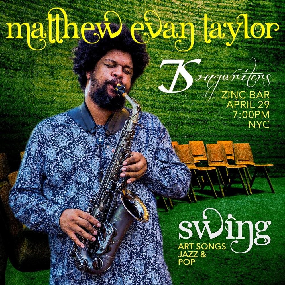 Matthew Evan Taylor - 7Swing