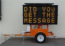 did you get the message