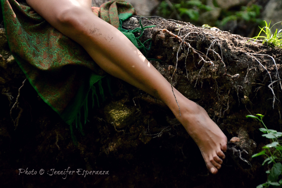 Sensual Leg in Nature