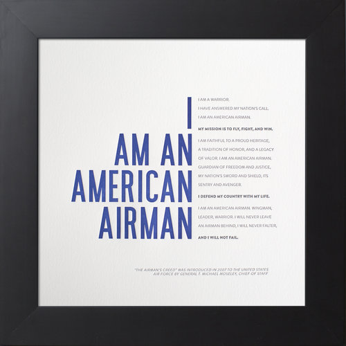 Simplicity press united states air force academy usafa gifts airmans creed altavistaventures Images