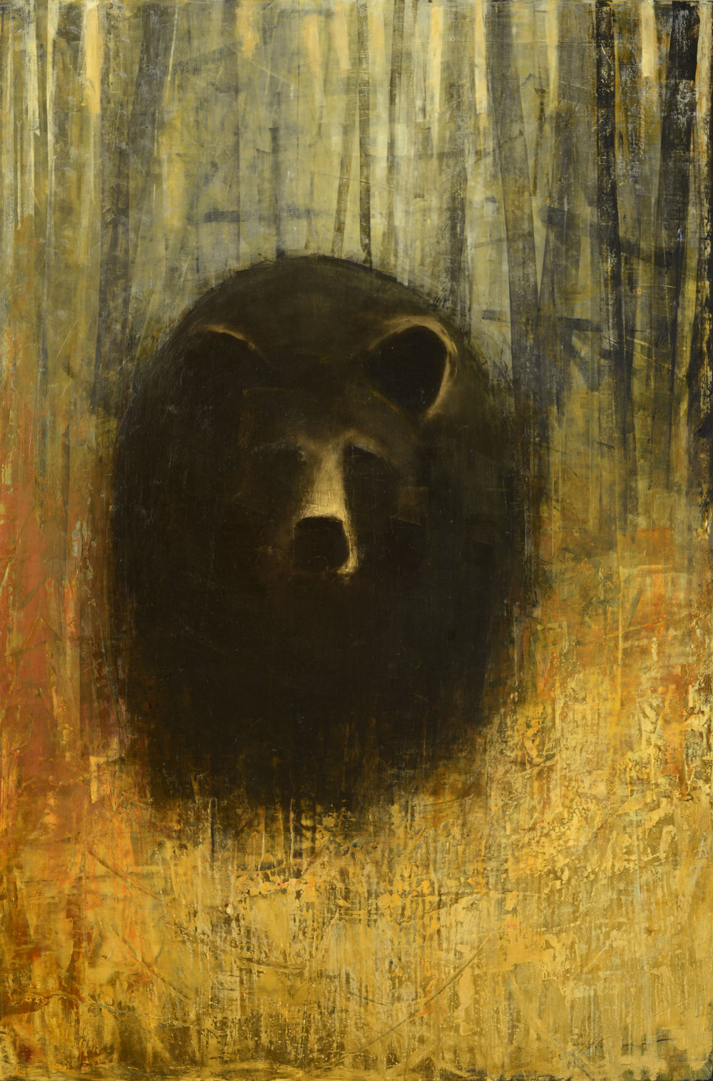 Black Bear (Golden Field)_60x40.jpg