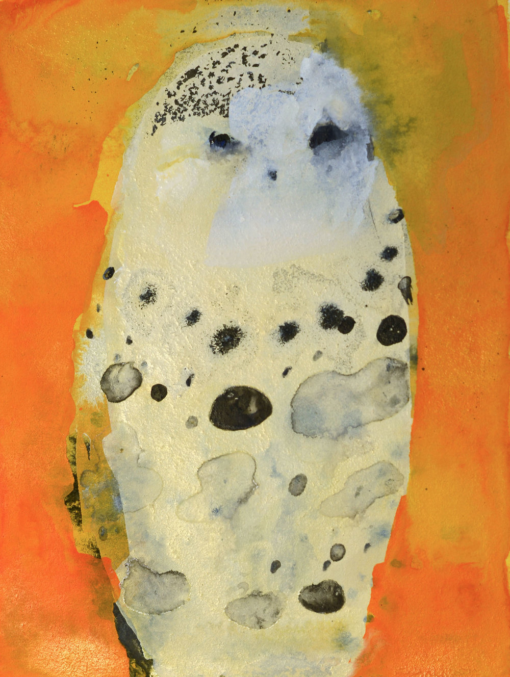 Snowy Owl no. 2_4x3 inset on 11x 7.5 paper.jpg