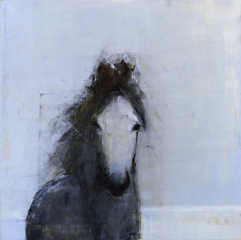 Rebecca Kinkead GRAY MARE (BLUE GRASS) _60x40.jpg