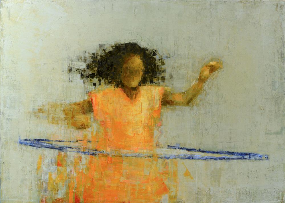 Hula (Orange and Blue)_50x70.jpg