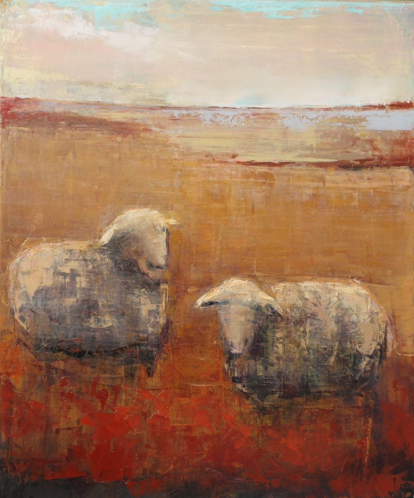 Sheep (September). 36x30.jpg