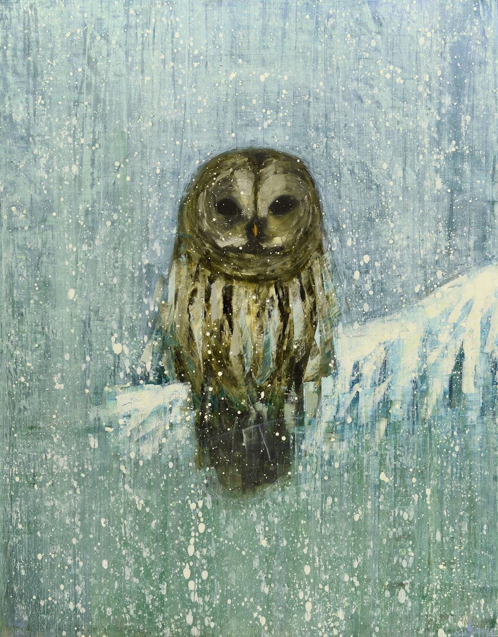 Snowy Owl (White on White) no. 2_33x30.jpg