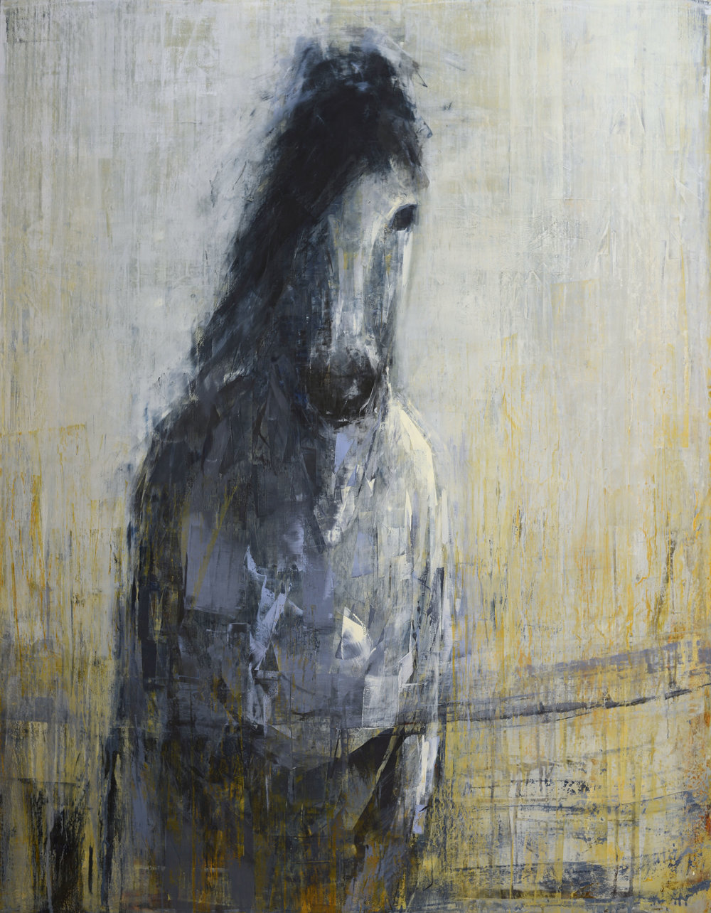 Grey Horse (Walking)_60x40.jpg