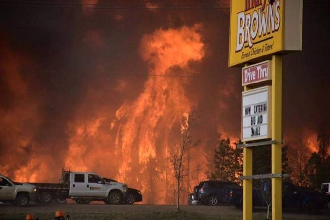 The Fort Mac fire of May 2016