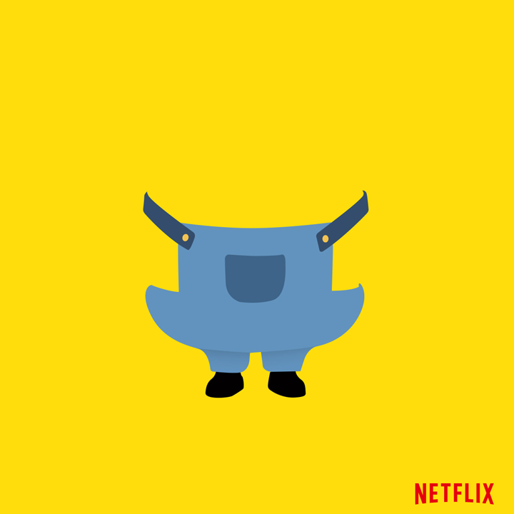 Shrink rays don't shrink people. People shrink people. Netflix now playing Despicable Me.