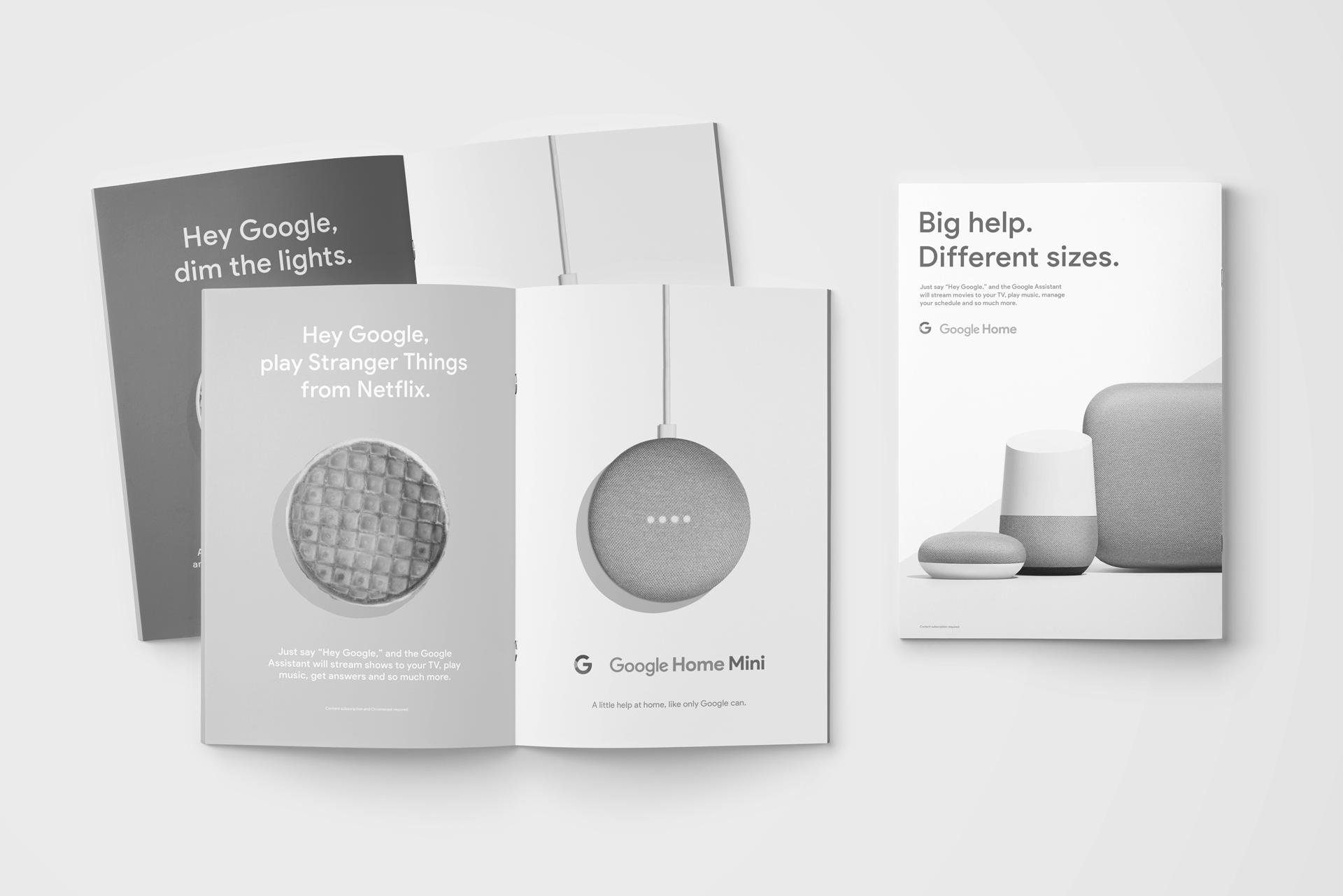 Google Home Mini — Alex Nassour – Art Director