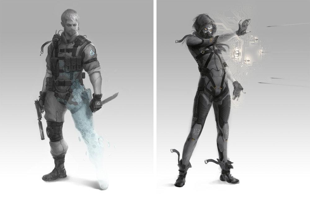 Metal Gear Online Concept Art combo 1.jpg