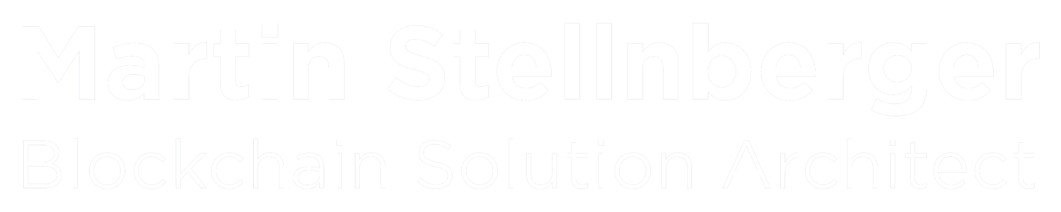 Martin Stellnberger - Blockchain Solution Architect