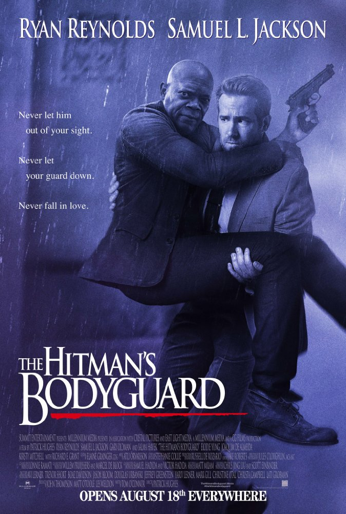 Brilliant play on THE BODYGUARD (1992) poster.