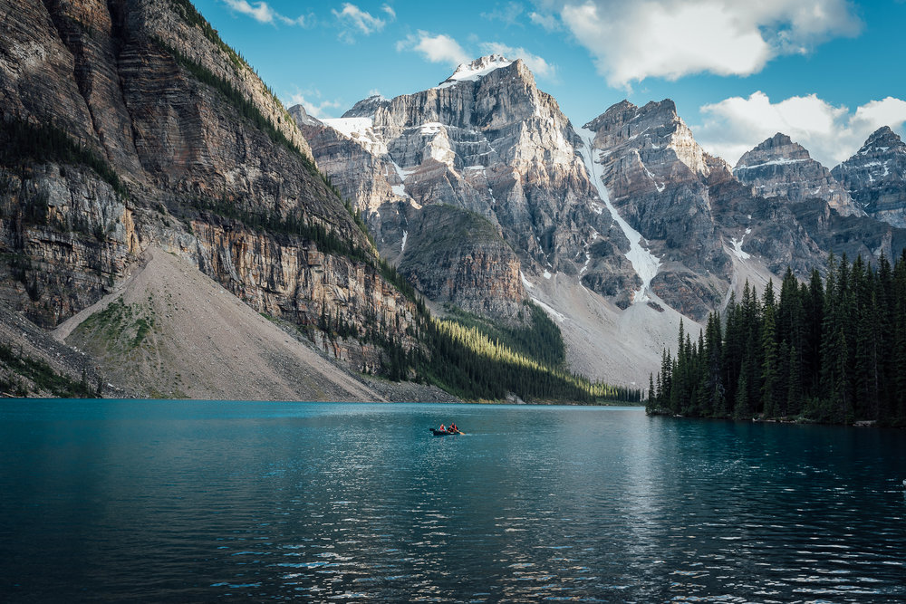 Moraine Lake Boat
