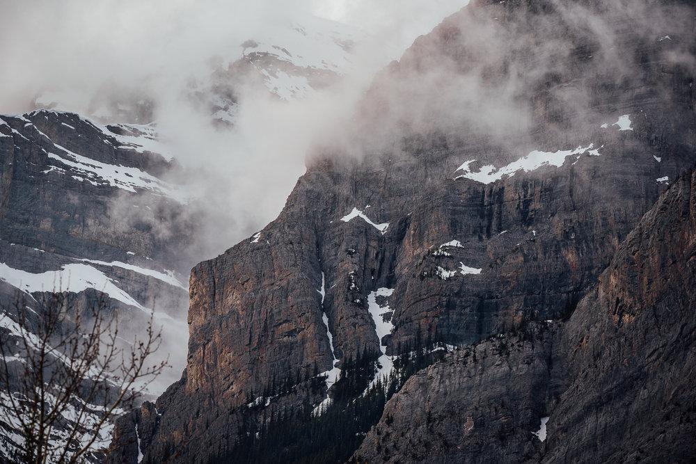 Mt.Kidd Moody landscape