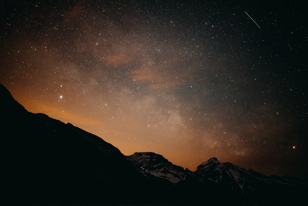 Stars over Canmore