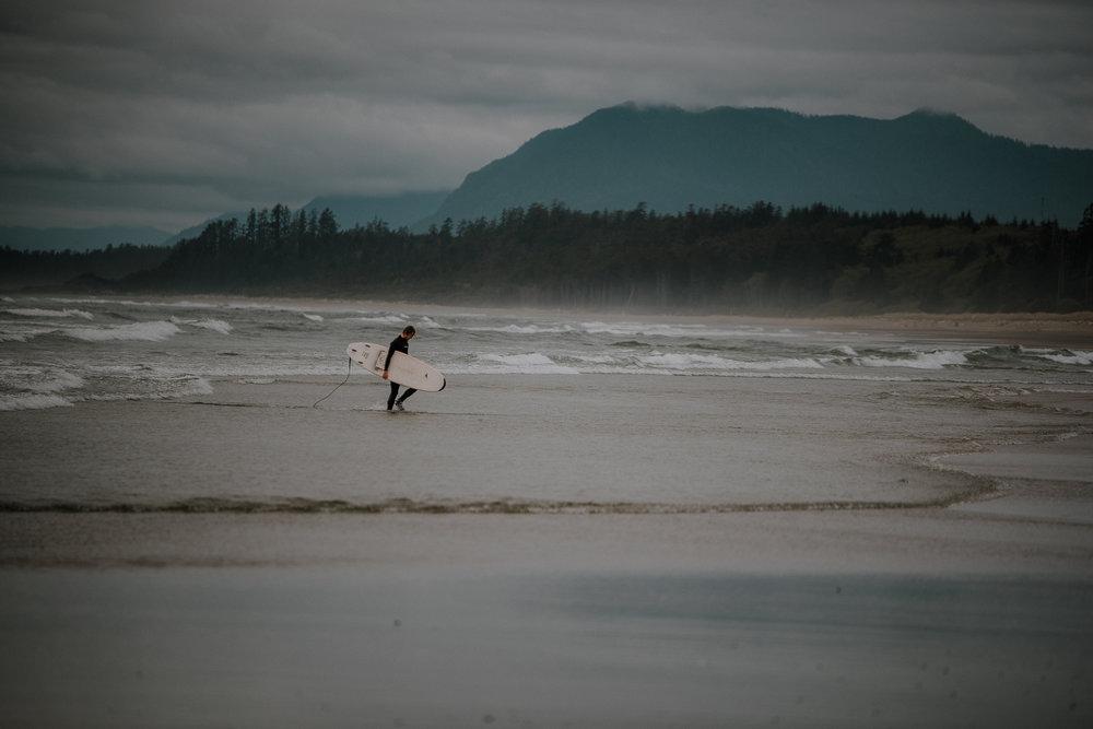 Tofino Surfer portrait