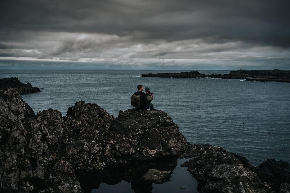 Tofino coastline portrait
