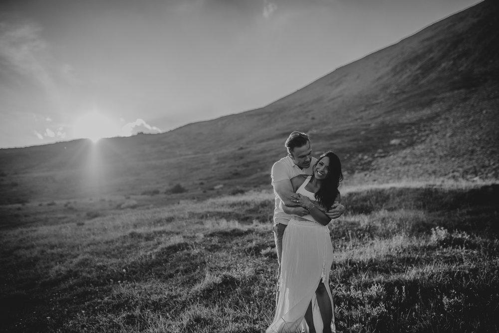 Kananaskis mountain engagement calgary wedding photographer