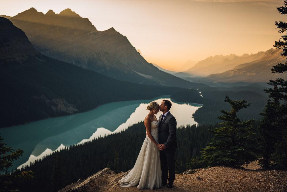 peyto lake wedding photo calgary wedding photographer
