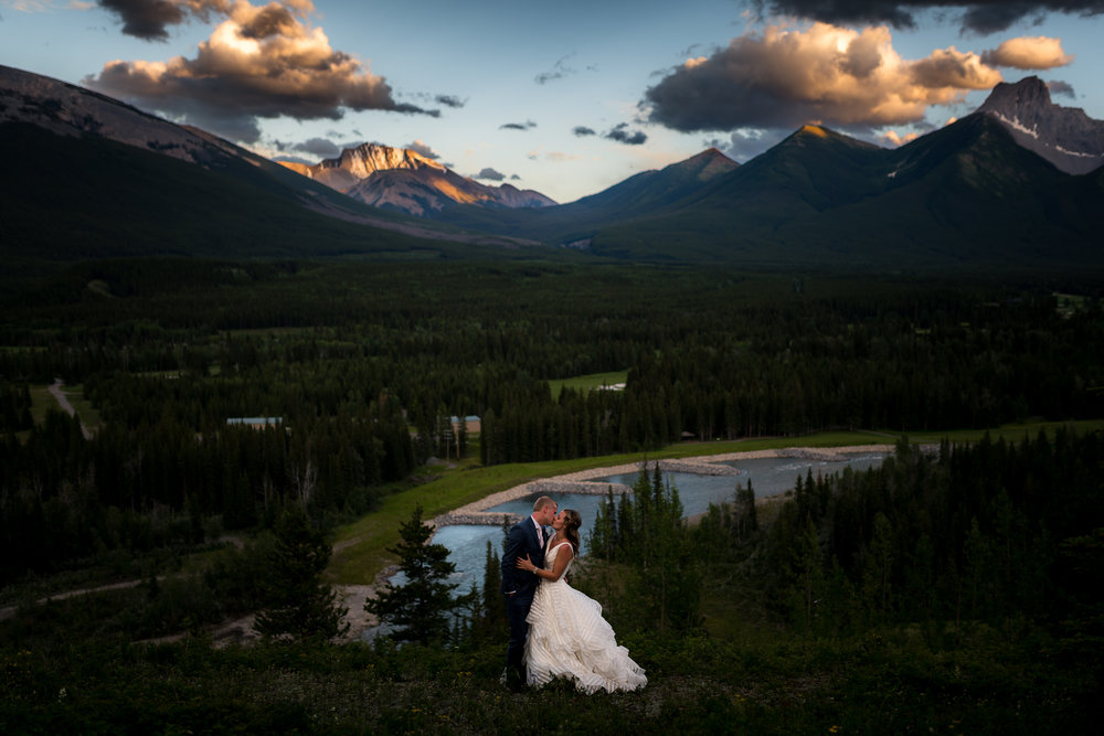 kananaskis mountain engagement, calgary photographer mountain wedding, epic photo, rocky mountain wedding photographer, banff wedding photographer