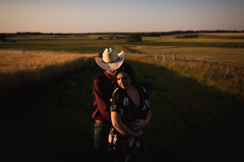 intimate calgary engagement photos calgary banff wedding photographer