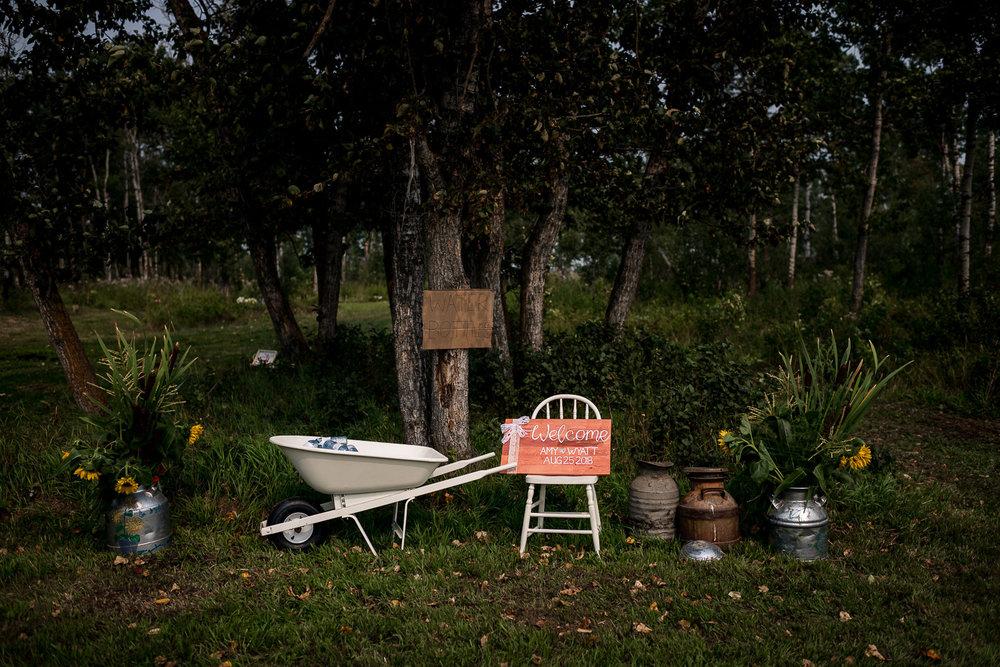 Alberta Rustic Farm wedding