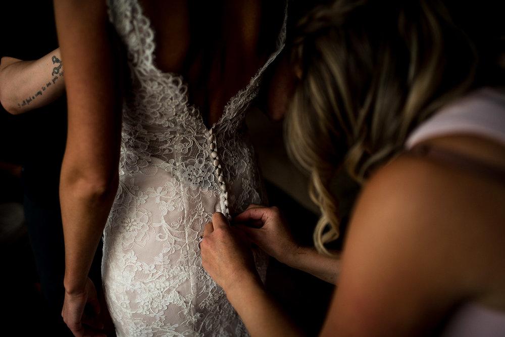 versace wedding dress luxury wedding bride getting ready banff wedding photographer