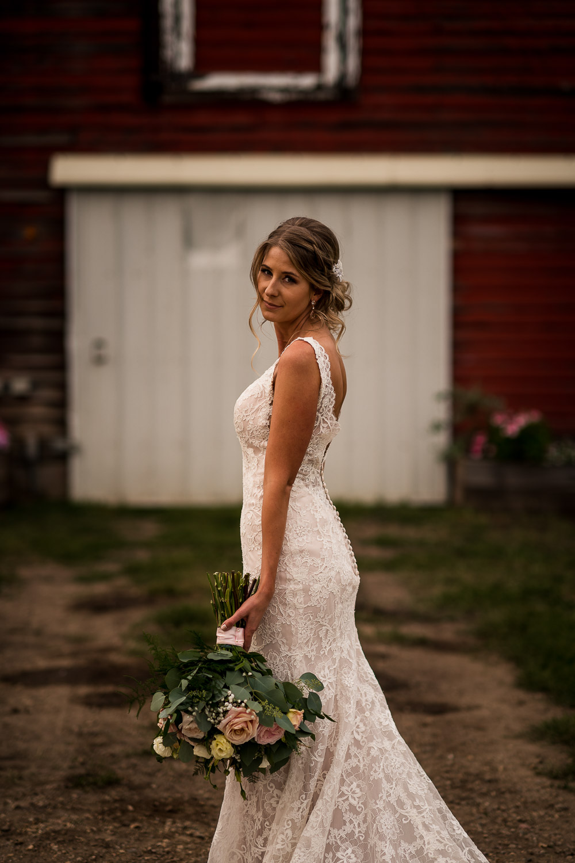glamours bride versace wedding dress calgary wedding photographer banff wedding photographer