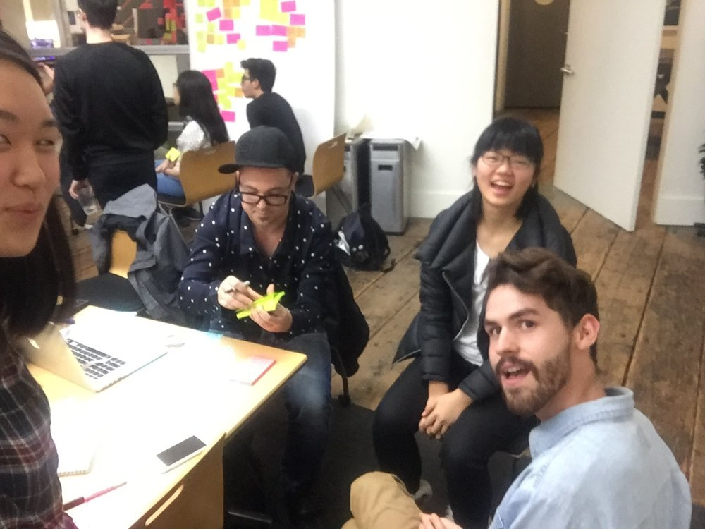 WORK SESSION @ IDEO